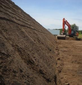 aanleg droogbed 2 voor brabant water
