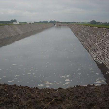 aanleg droogbed voor brabant water