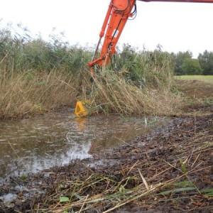 opknappen waterloop ulvenhout