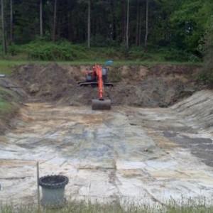 schoonmaken overstort basin